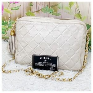 Authentic Chanel Shoulder Cambon Line Bag